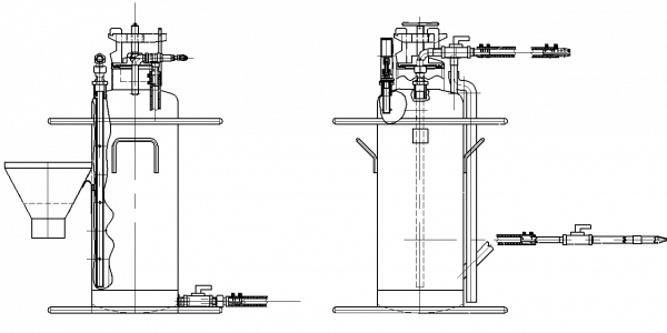 Аппарат тампонажный — осланцеватель АТ-50М (АТ-50М1)